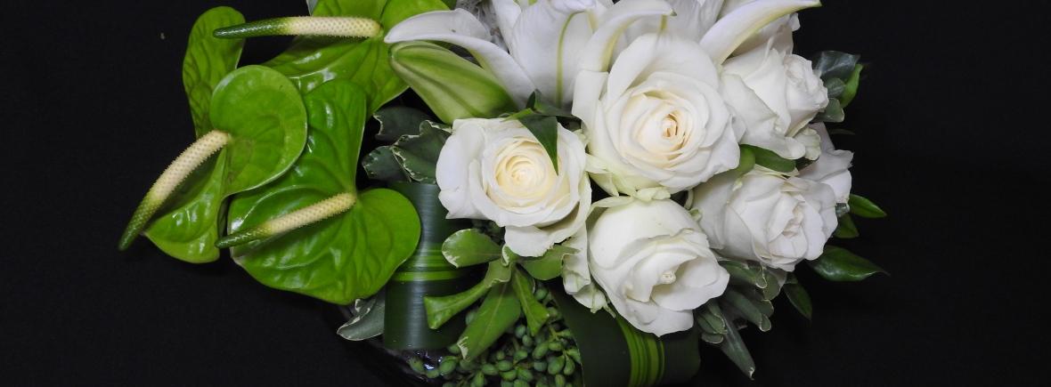 Arranjo Antúrio Lírios e Rosas